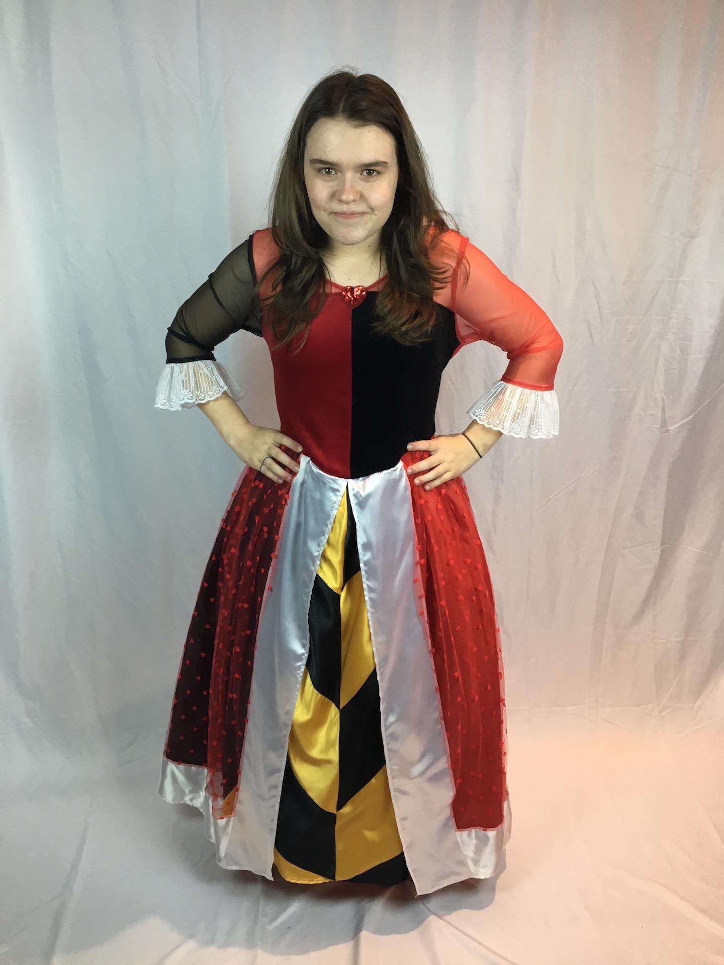 Queen of Hearts Costume 2