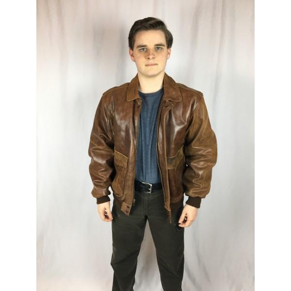 Leather Flight Jacket 2 2