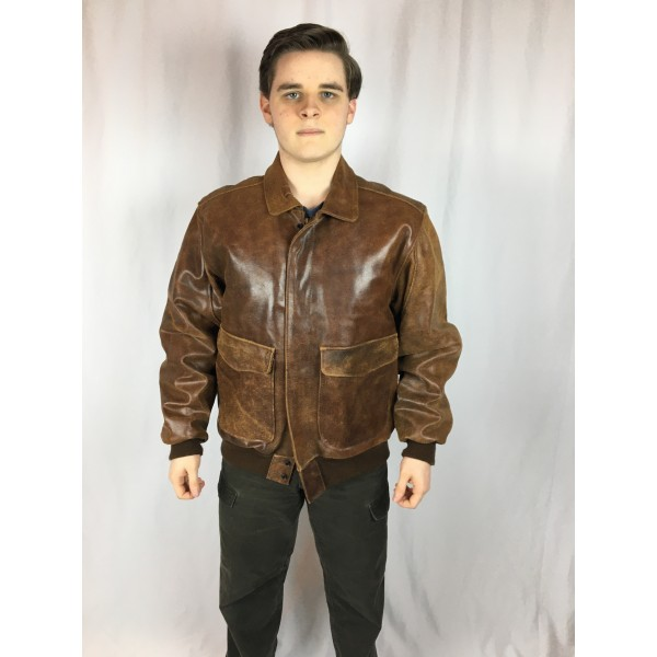 Leather Flight Jacket 2