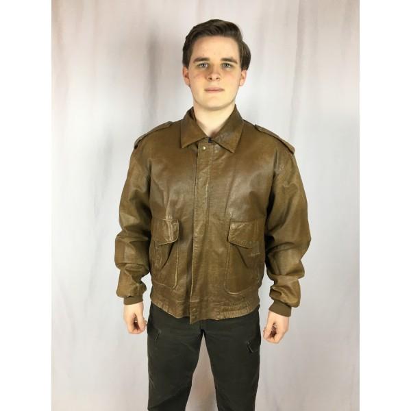 Leather Flight Jacket 1