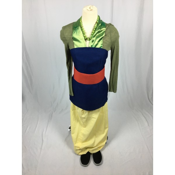 Mulan First Outfit